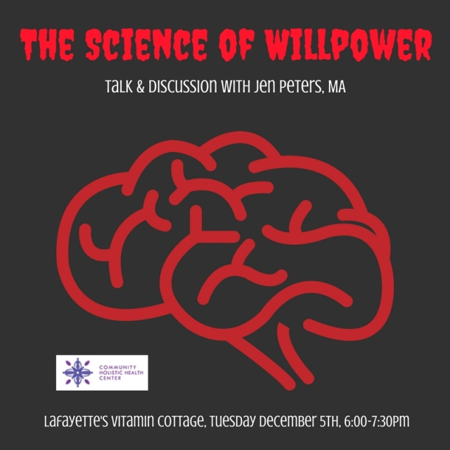willpower talk graphic